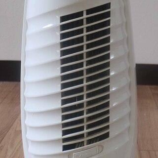 ミニタワーファン(扇風機) ホワイト 取っ手付き