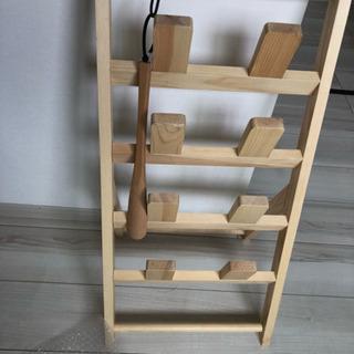 スリッパたて 木材