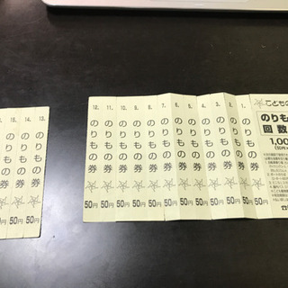 こどもの国(横浜市) のりもの回数券800円分