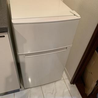 【美品】冷蔵庫 AT-RF85B-WH ホワイト