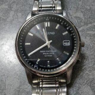 REGUNO 電波ソーラー腕時計