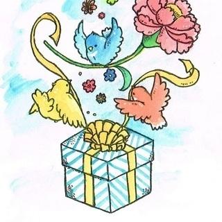 思い出に水彩ペットイラスト描きます
