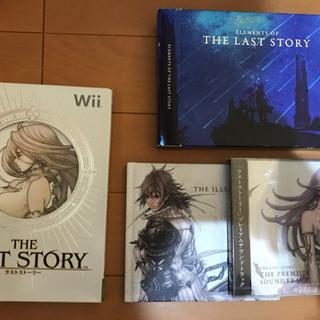 値下げ!Wii 「THE LAST STORY」特典付き!