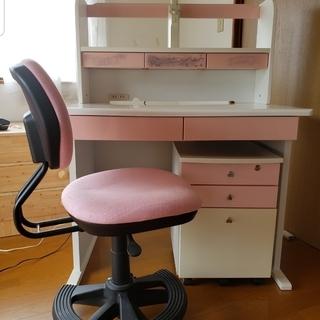 ディズニー 学習机(椅子付き)