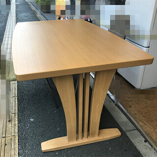 美品 分解ダイニングテーブル テーブル ★T10