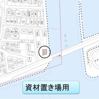 ★貸土地★  和歌山市湊 77.35坪  #資材置き場 #トラッ...