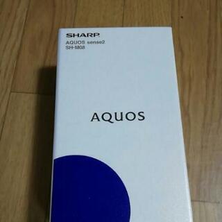 新品 AQUOS sense2 SH-M08  アーバンブルー ...