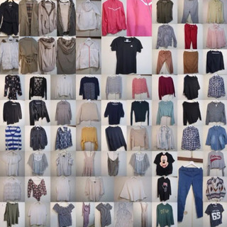 75点以上 女性用の服・鞄・靴 セット