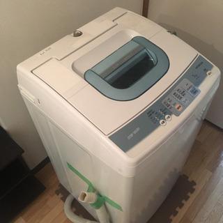【美品】日立全自動洗濯機 NW-5KR
