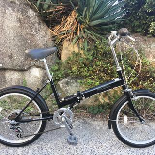折りたたみ自転車20インチ(6段変速)