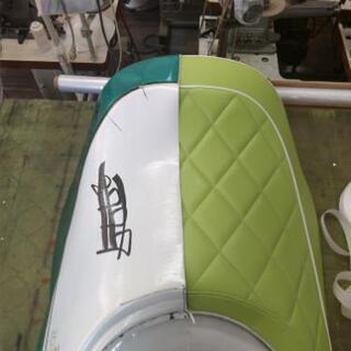 車、バイク、ボートのシート、内装張り替えます。