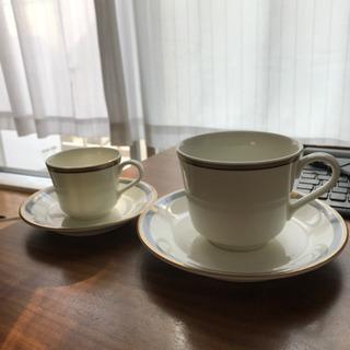 ナルミのコーヒーカップ&ソーサー