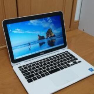 【美品 綺麗なホワイト】 DELL 持ち運びに便利な小型PC 薄...