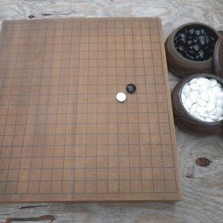 囲碁盤と碁石のセット 大型