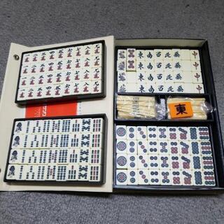 麻雀牌  マットのセット  美品