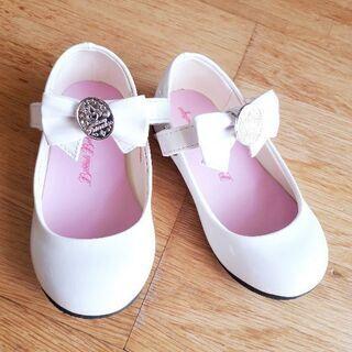 【値下げ】ディズニープリンセス フォーマル靴(17cm)