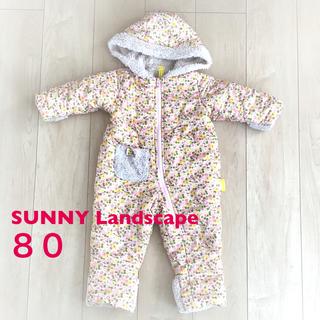 (美品)ジャンプスーツ 80 sunny landscape