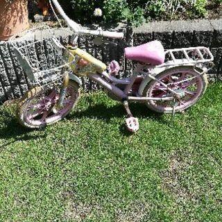 こどもの自転車(中古)あげます16インチくらい