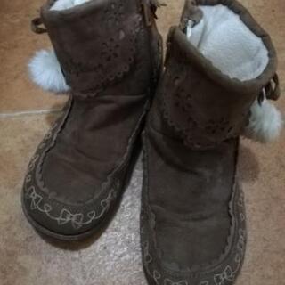 女の子用ブーツ 20センチ