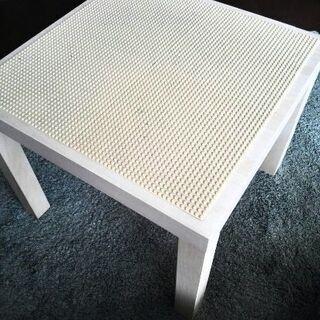レゴ テーブル 基礎版付(ベージュ)作業台  IKEA