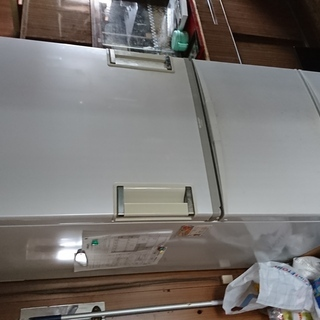 中古冷蔵庫(現在使用中)