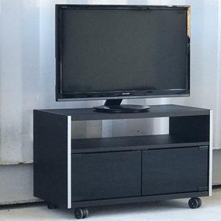 格安で!テレビボード◇小型テレビボード◇キャスター付き◇テレビ台のみ!