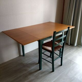 エクステンション・テーブル チェア セット