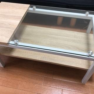<値下げ>ガラステーブル