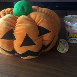 ハロウィン かぼちゃクッション