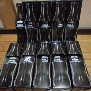 コカコーラゼロ☆EXILEのボトルカップ☆譲ります。⑳
