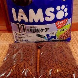 ドッグフード アイムス  約2kg(11歳以上用、チキン味、小粒)