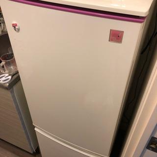 お譲りします!シャープ製ノンフロン冷凍冷蔵庫