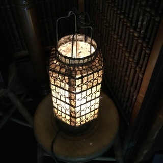 蔵行灯風照明