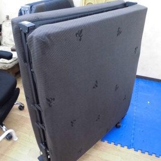 折りたたみベッド 布製 リクライニング式 セミシングル 幅90c...