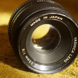 ヤシカ レンズ 55mm F2.0