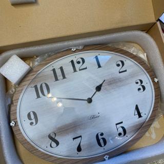 【譲渡先決定】ガラス時計 未使用