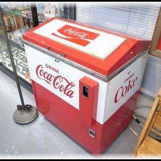 当時物 コカ・コーラ ボトル用自動販売機 SANYO SVM-4...