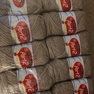 新品毛糸10個×2色