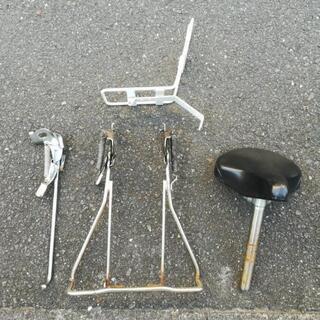 自転車のパーツ各種