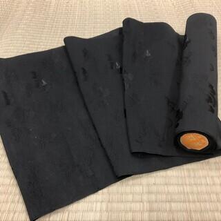 正絹 反物 西陣 双美 着物 黒 MM70