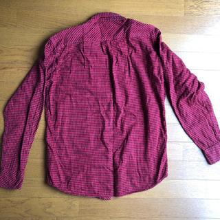 長袖Tシャツ レッド サイズM 汚れなし