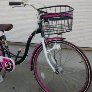 24インチ女の子用自転車