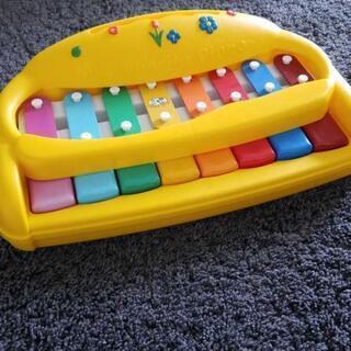 アメリカン玩具 ピアノ 木琴