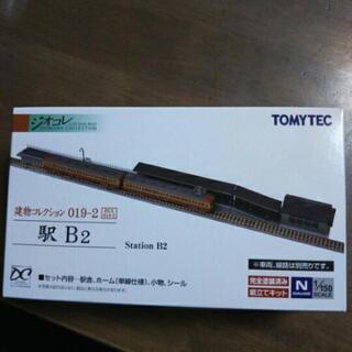 ジオコレ【駅 B2】 鉄道模型