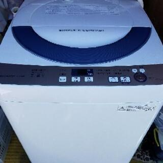 SHARP✨シャープ 洗濯機 美品 多機能 5.5キロ 2…
