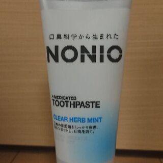 未使用未開封 NONIO   薬用歯磨き粉