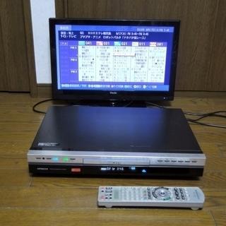 【取引終了】日立 Wooo HDD/DVDレコーダー 2番組録画...