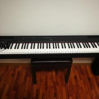 ヤマハ コンパクト電子ピアノ p-115b美品