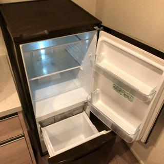 Panasonic製  冷凍冷蔵  2012年製 ブラウン - 中央区