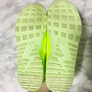 NIKE ネオンスニーカー - 靴/バッグ